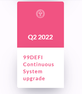 99defi continuous system upgrade