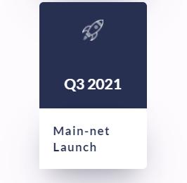 Q3 2021 Main-net Launch